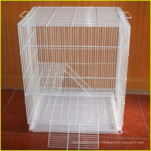 Galvanized H type 3 tiers wire mesh for rabbit cage for broiler chickens